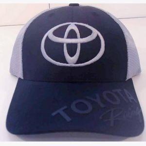 Toyota Racing hat baseball cap NASCAR Black/Gray